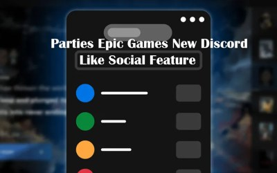 Parties Epic Games Stores Voice Chat Feature