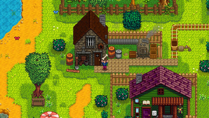 Stardew Valley Trees Planting Trees Using Tappers and