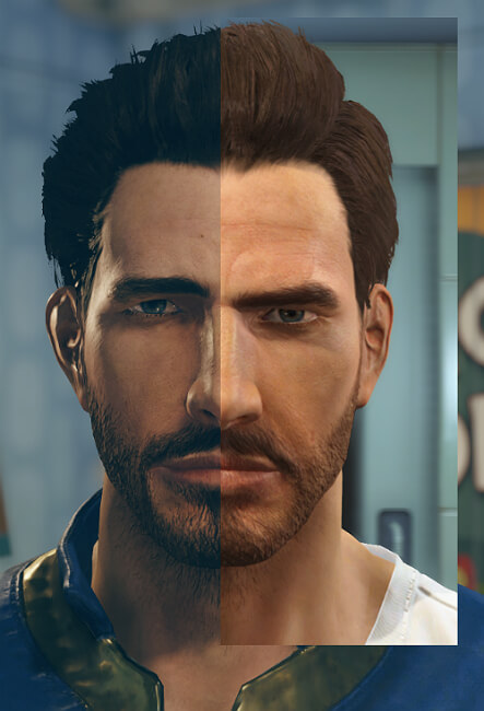 fallout 4 comparing character