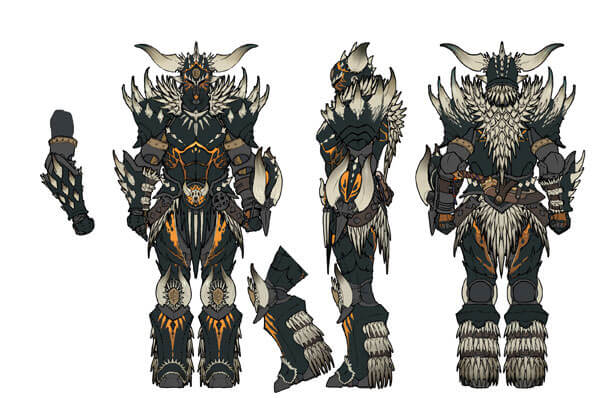 Monster Hunter World Nergigante Armor