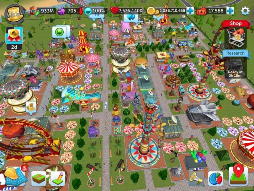 Download Rollercoaster Tycoon Touch Mod Apk Latest Version