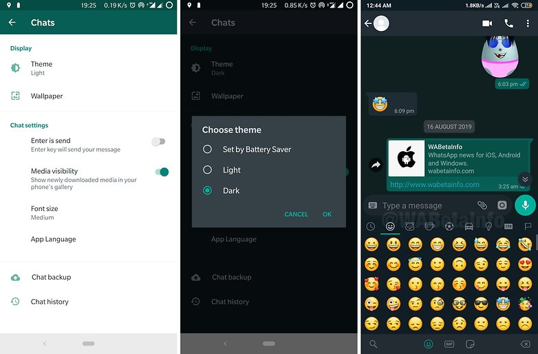 Whatsapp Dark Mode Apk