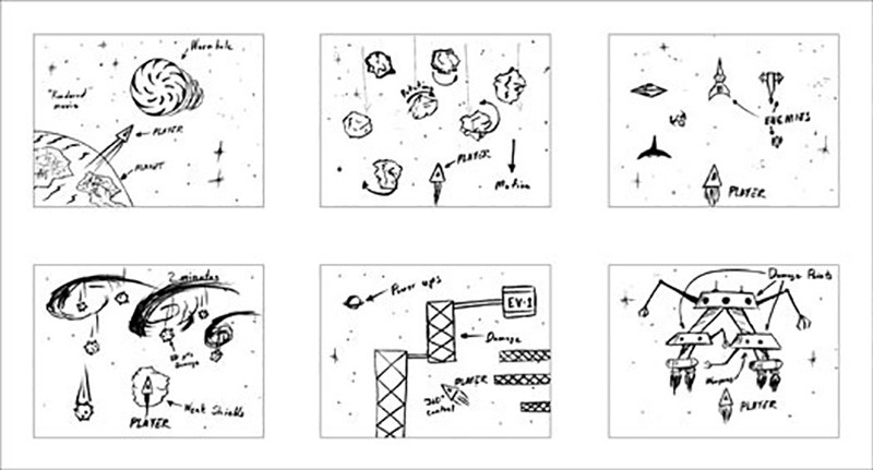 Video Game Storyboard
