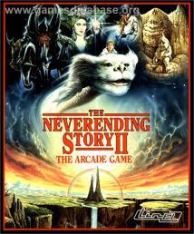 Neverending Story Ii Arcade Game Amiga 1990 - Year of Clean