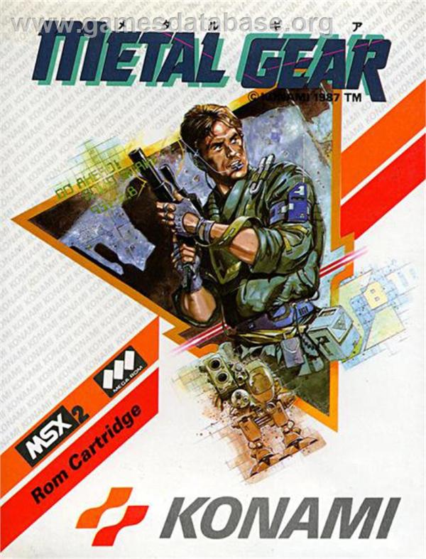 Metal Gear MSX Games Database
