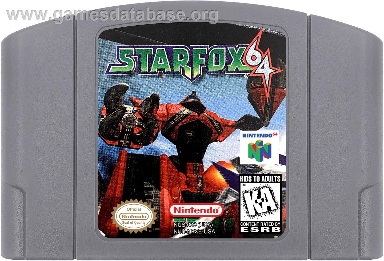 Star Fox 64 Nintendo N64 Games Database