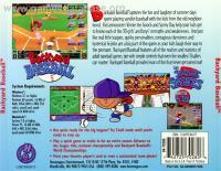 Backyard Baseball - ScummVM - Games Database