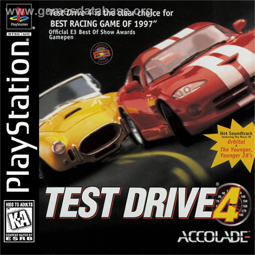 Test Drive 4  Sony Playstation  Games Database