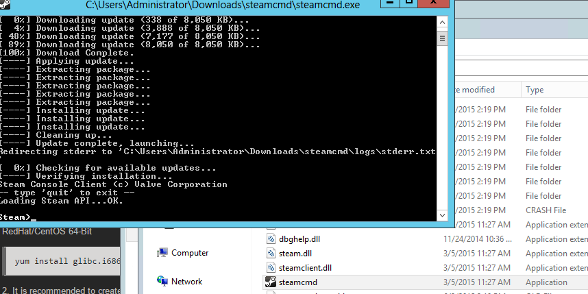 Running a dedicated server on ark