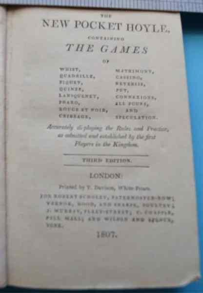 Hoyles Games