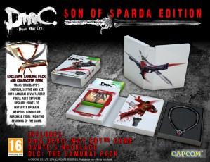 DmC: Devil May Cry edición Son of Sparda