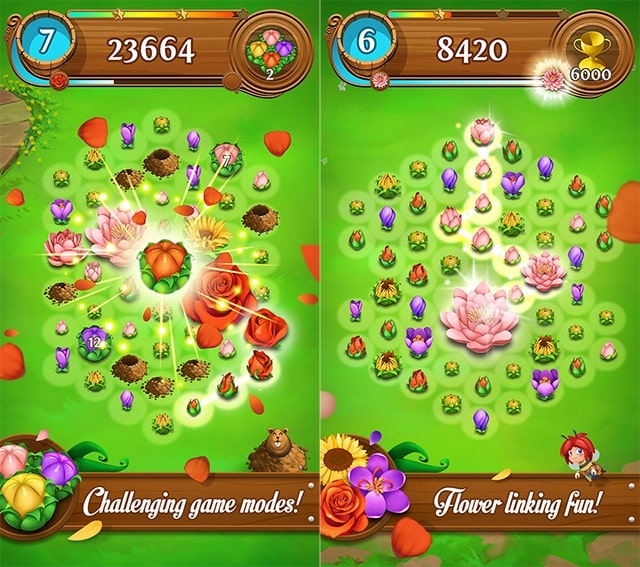 Blossom Blast Saga download free