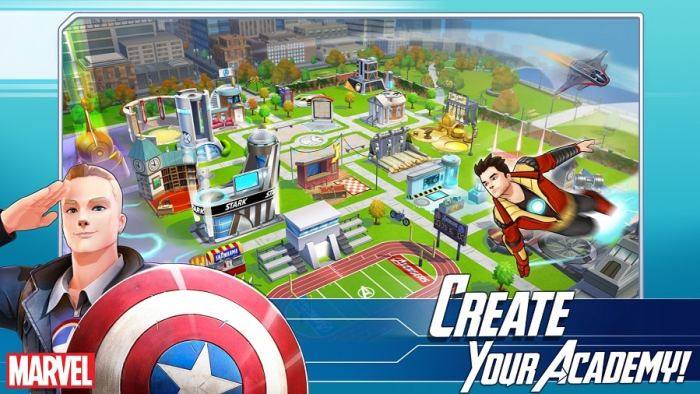 download MARVEL Avengers Academy free