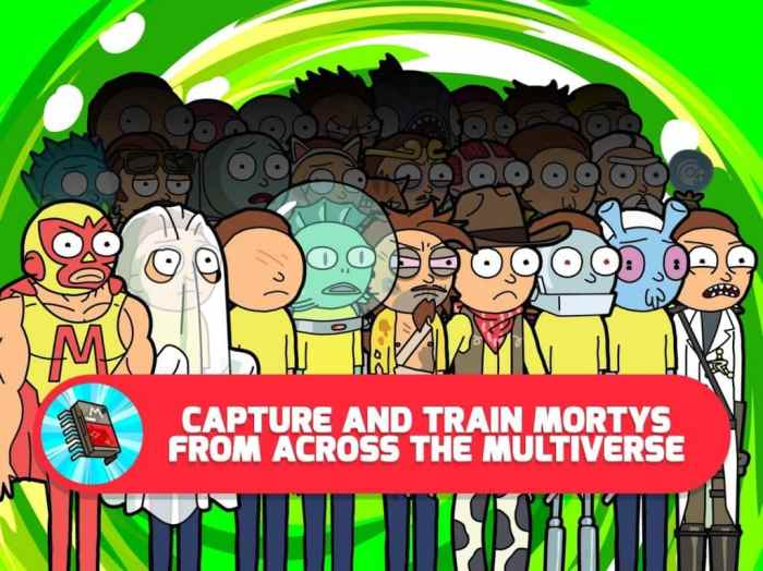 download Pocket Mortys free