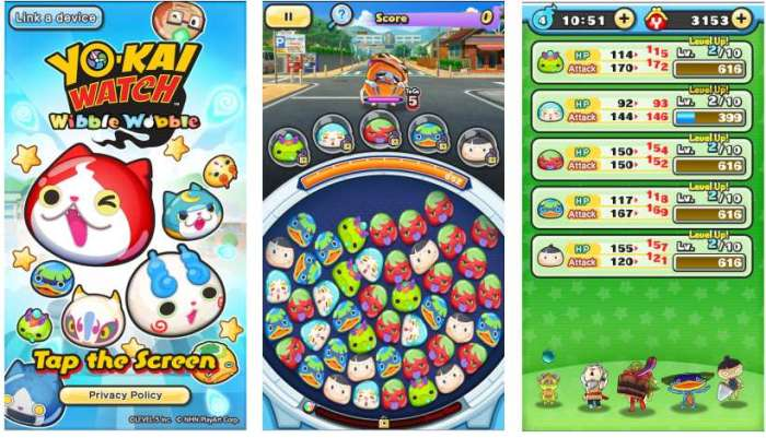 download Yo-Kai Watch Wibble Wobble free