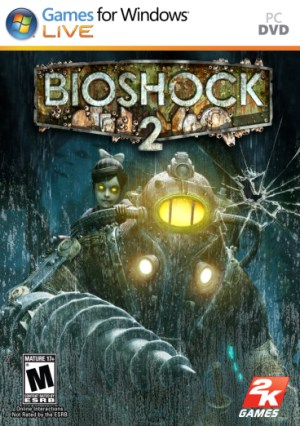 Bioshock 2 game dvd box