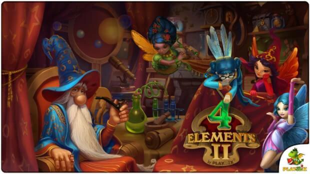 4 Elements II game screen shot 3