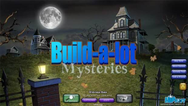 Build-a-Lot Mysteries pc game screen shot 1