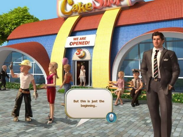 Cake Shop 3 Video Game screen shot 3