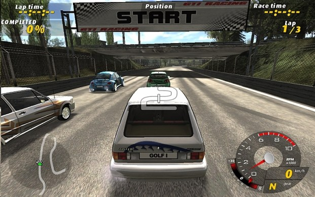 GTI Racing (PC) Screenshot 1