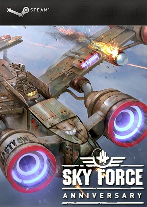 Sky Force Anniversary (PC) Game Cover