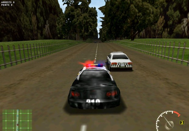 Test-Drive 5 Game PC screen shot 1