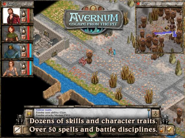 Avernum Escape From the Pit pc game screenshot 3