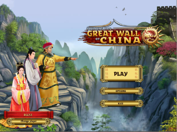 Building the Great Wall of China game screen shot 1