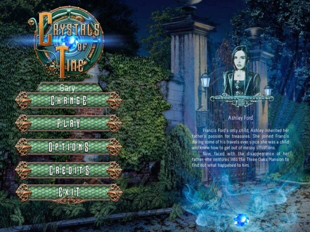 Crystals of Time pc game screen shot 1
