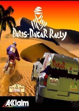 Paris Dakar Rally pc game cover