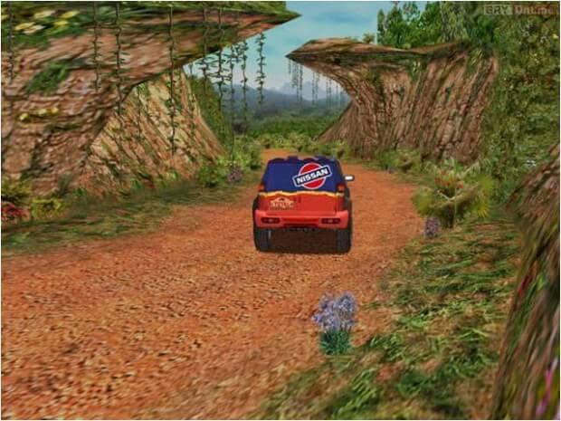Paris-Dakar Rally pc game screen shot 2