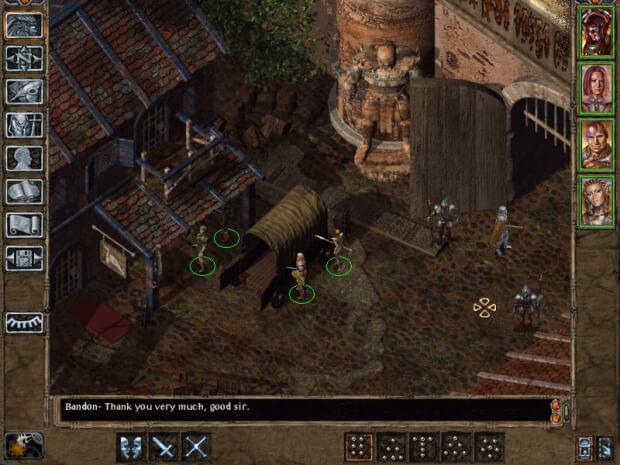Baldur's Gate 2 Shadows of Amn Screenshot