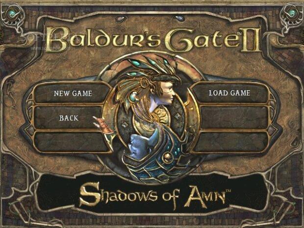 Baldurs Gate 2 Shadows of Amn Video Gameplay