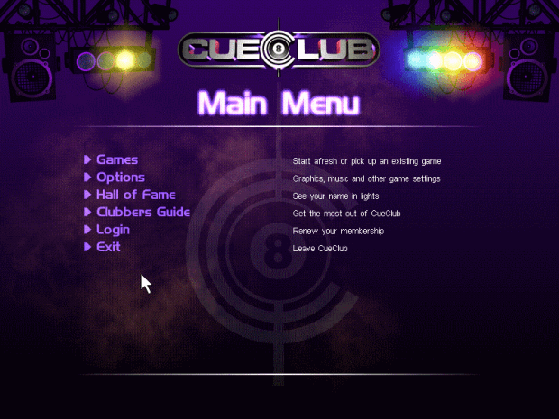 Cue Club PC Game free Downloal Full Version