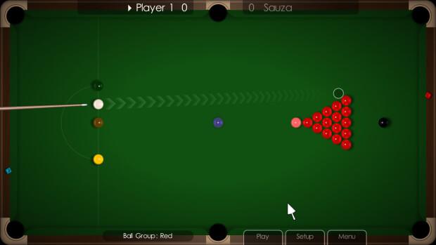 Cue Club Table screenshot