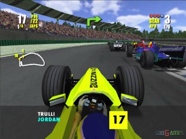 F1 2000 Screenshot
