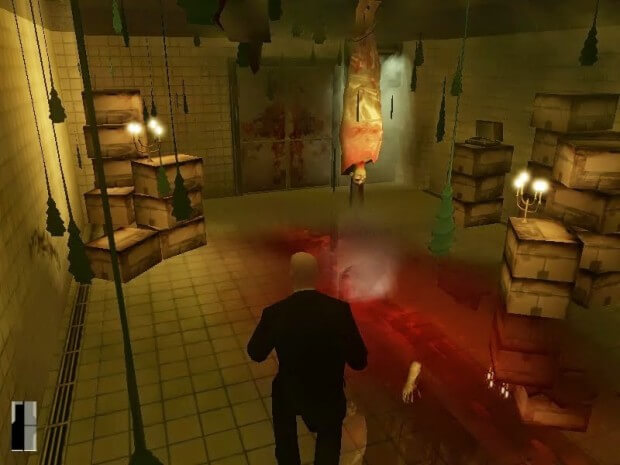Hitman Contracts Video Gameplay