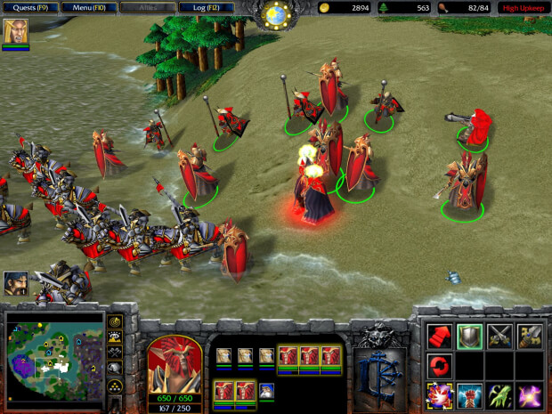 Warcraft 3 Reign of Chaos Screenshot 1