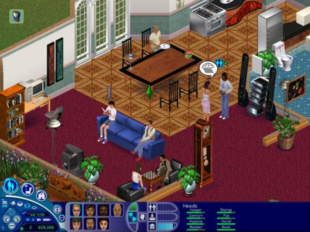 the sims 1 screenshot