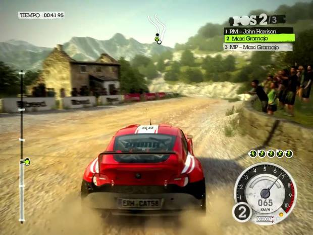 Colin McRae Dirt 2 Video Gameplay