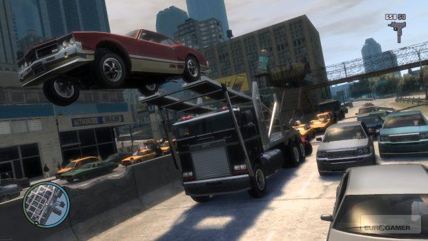 Grand Theft Auto IV Video Gameplay