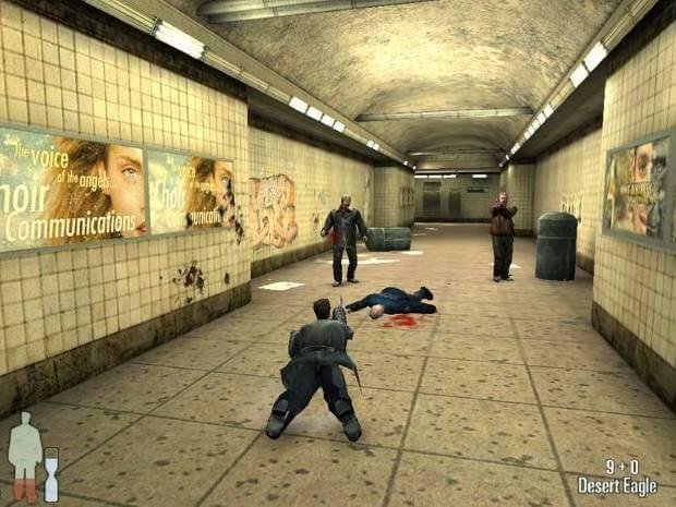 Max Payne Video Gameplay