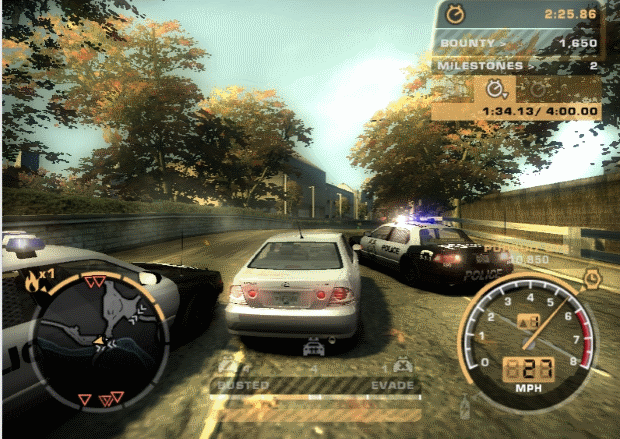 Need for Speed Most Wanted 2005 Video Gameplay