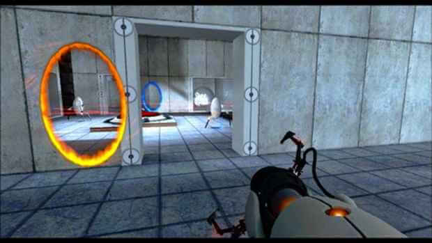 Portal 2 Video Gameplay