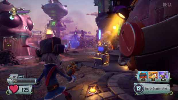 Plants vs Zombies Garden Warfare 2 Video Gameplay