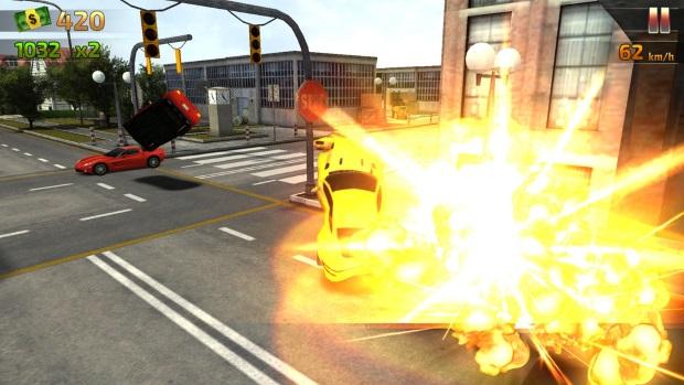 Crash And Burn Racing Screenshot