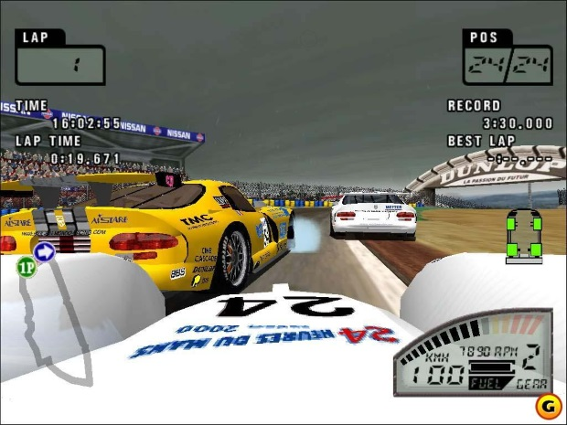 Le Mans 24 Hours Screenshot