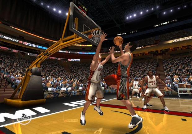 NBA Live 08 Free Video Game