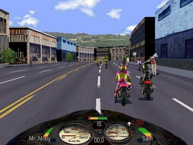 Road Rash 2002 Video Game