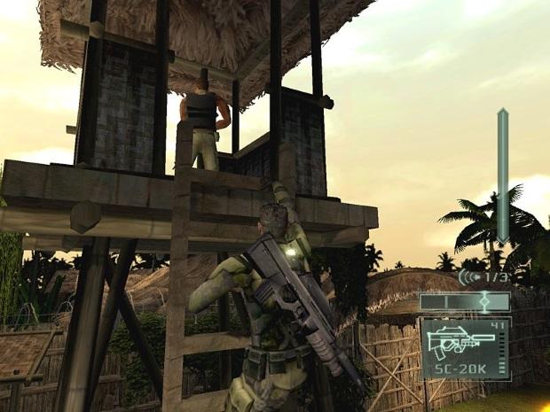 Tom Clancys Splinter Cell Pandora Tomorrow Screenshot